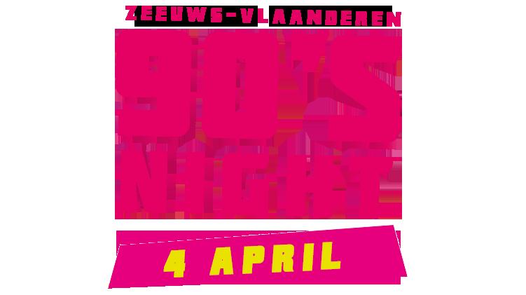 90's NIGHT Zeeuws-Vlaanderen Logo